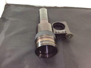 "D.O. INDUSTRIES GOLDEN NAVITAR Slide Projector Lens f/3.5 8-12"" 120637"