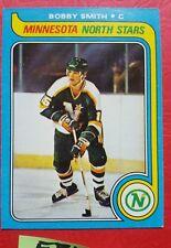 Bobby Smith Hockey C 206 1979 Topps Minnesota North Stars VG EX HS