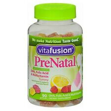 Vitafusion Prenatal Dha And Folic Acid Gummy Vitamins 9