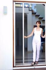 Retractable Door Flyscreens for French Doors 1200mmW x 2100mmH White or Brown