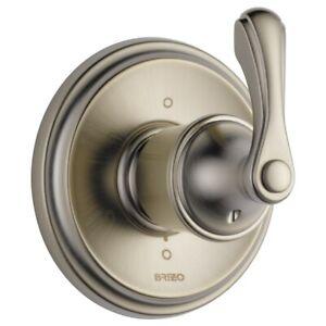 brizo t60985bn brushed nickel Charlotte®  6-FUNCTION DIVERTER TRIM, need valve