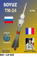 Mach 2 Models 1/72 Soyuz Tm-24 Rocket 1996 Cassiopee Mission First French Woman