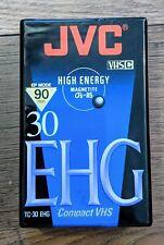 JVC High Energy 30 EHG Compact VHS Tape NIP Free USA Shipping