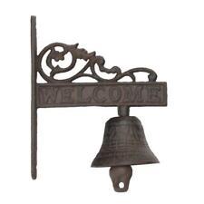 """Door Bell """"Welcome"""" Cast Iron/ Ssci-56525"""