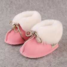 Baby Winter Boots Infants Warm Ultra-fiber leather Baby Booties Sheepskin Shoes