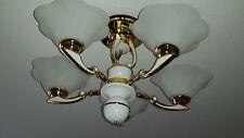 Wunderschöne Kronleuchter Deckenlampe Art Deco Stil