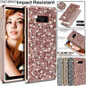 For Samsung Galaxy S10 S9 Note 10 + Glitter Bling Sparkle Protective Case Cover
