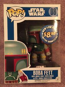 Funko Pop Star Wars #08 Boba Fett
