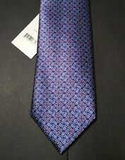 Brioni Tie NWT $230 Handmade in Italy Exclusive Chain Link 100% Silk