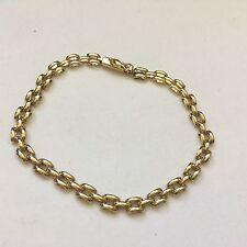 Fine 9ct/ 9k 375 gold articulated bracelet
