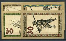 Suhl 4 Scheine Notgeld ...................................................2/7052