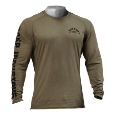 GASP THROWBACK LS TEE - WASH GREEN NEW WITH TAGS RRP £54