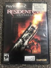 Resident Evil Outbreak *Playstation 2* Complete w/ Manual
