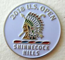 2018 US OPEN at SHINNECOCK HILLS, WHITE, BALL MARKER