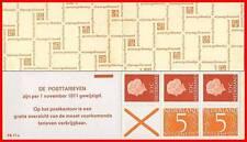 NETHERLANDS 1971 QUEEN booklet Sc.#349a MNH CV$22.50 ++