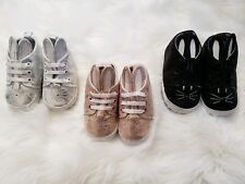 Baby Toddler Girls Cute Bunny Glitter Lace Fashion Shoes Sneakers 12-18 months