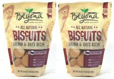 New listing (2) Purina Beyond All Natural Biscuits Salmon & Oats Recipe Dog Snacks 25 Oz
