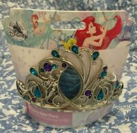 DISNEY STORE TIARA for Kids Ariel The Little Mermaid NEW