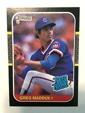 1987 Donruss Greg Maddux Rookie Card! HOF 🔥🔥🔥
