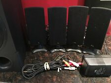 Cyber Acoustics- PC multimedia home theater speaker wired serie 6pces. - system