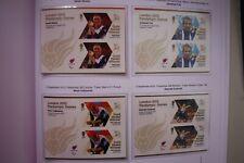 London 2012 Paralympics - Full Set 34 Gold Medal Winners Minisheets (MNH)