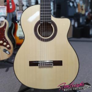 Cordoba GK Studio Solid Spruce Top Nylon String Flamenco Guitar with Deluxe Bag