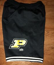 RARE VINTAGE MAJESTIC PURDUE BOILERMAKERS BASKETBALL SHORTS MEDIUM MADE IN USA