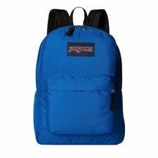 Jansport Superbreak Mens & Womens Backpacks Rucksack - Royal Blue