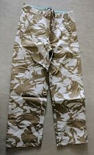Genuine British Army Issue DPM Desert MVP Goretex Waterproof Trousers 85/96/112
