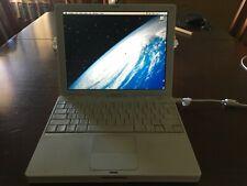 "Apple iBook A1133 12.1"" Notebook/Laptop w/ PowerPC G4 1.33Ghz 1GB RAM 80GB HDD"