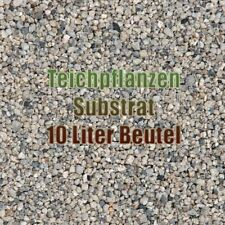 Substrat 10 Liter Beutel Teichsubstrat für Teichpflanzen Granulat Aquarium Garte