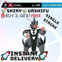 POKEMON SWORD AND SHIELD ✨SHINY✨ SINGLE STRIKE URSHIFU 6IV 🚀Instant Delivery🚀