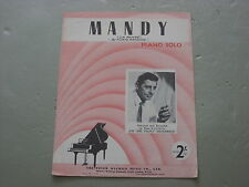 Mandy,  Sheet Music