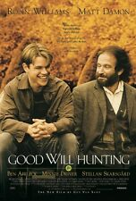 GOOD WILL HUNTING 24x36 poster MATT DAMON ROBIN WILLIAMS BEN AFFLECK DRIVER NEW!