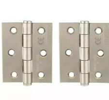 """Trade Lot Steel Butt Hinge 1/"""" x 1/"""" 25mm x 25mm TEN PAIRS FREEPOST"""