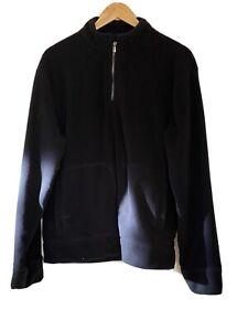 Black Fleece Jumper, Large
