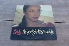 Sade: Stronger Than Pride  (LP) Rare Promotional Version