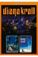 DIANA KRALL - LIVE IN PARIS & LIVE IN RIO (2DVD)  2 DVD NEW+
