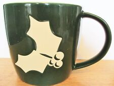 STARBUCKS    2011  GREEN HOLLY CUP 16OZ