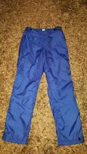 Womens Blue Patagonia Ski Trousers Fleece Lined, Zip - Size Medium W 30-32 / L31
