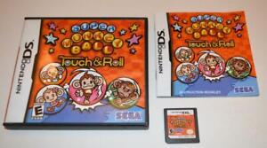 SUPER MONKEY BALL: TOUCH & ROLL NINTENDO DS GAME 3DS 2DS LITE CIB COMPLETE