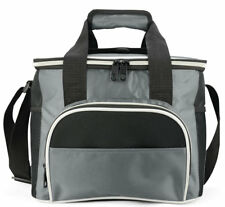 EAGLEMATE 14L Soft Cooler Insulated Lunch Bag for Works,Camping (Grey)