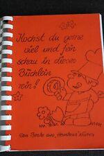 schönes Koch- und Backbuch vom Kindergarten Heustreu