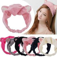 Cat Ears Hairband Head Band Gift Headdress Hair Accessories Makeup Tools  FT