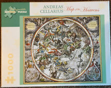 Pomegranate Map of the Heavens Andreas Cellarius 1000 Pc Puzzle Used ++ Complete