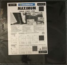 Lighthouse Maximum Black Interleaves Dividers 350mm Wide Pages Pack Of 5 Sheets