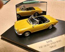 "Vitesse 046B Fiat 124 BS1 Spider Sport ""GIALLO"" yellow"