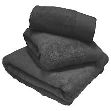 Chatsworth 100 Egyptian Cotton Bathroom Towels Super Soft 600gsm Grey Bath Towel