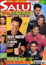 Magazine SALUT n°35,  Brad PITT, Ophélie WINTER, Ginie LINE, ULTIMATE KAOS, NEK
