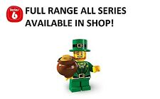 Lego minifigures leprechaun series 6 (8827) unopened new factory sealed